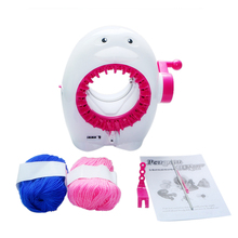 Kids Loom Knitting Machine Penguin Scarf Hat Smart Knitter Educational Toys Sewing Tools Accessory Creative Kids Gifts Presents(China)