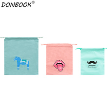 Donbook 1 PC Clothes Storage Bags for Travelling Shoes Socks Towel Cosmetic Tools Tidy Organizer F04-3-002