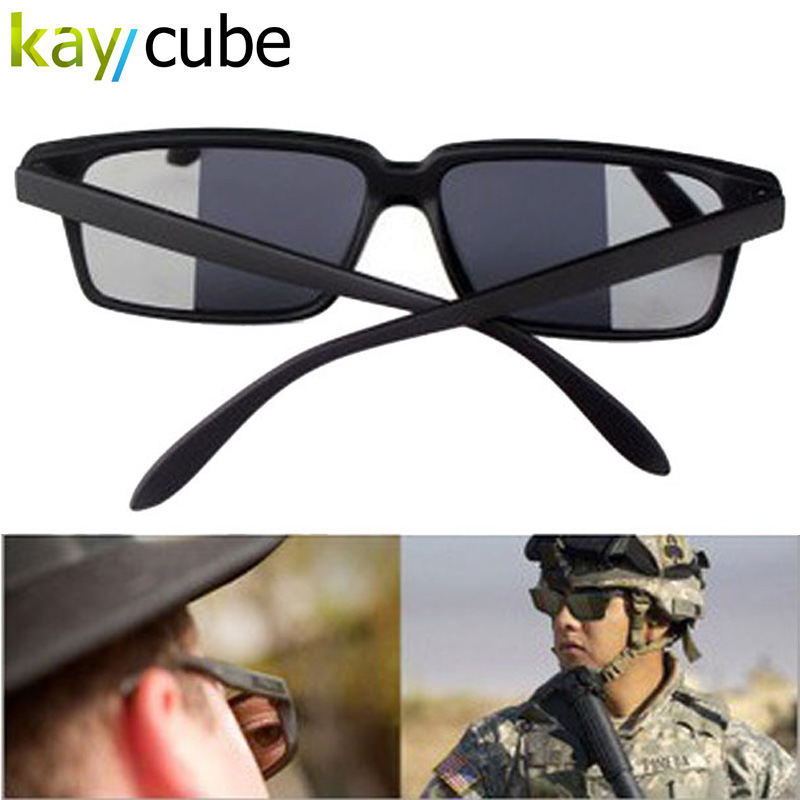 Fashion Personal Security Glasses Rearview Sunglasses Anti-Track Monitor Sunglasses Aviator Style Black Secret Rearview Mirror<br><br>Aliexpress