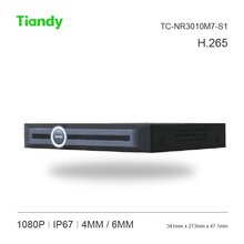Tiandy 10CH H.264/H.265 NVR TC-NR2010M7-S1 1080P Support SD hybrid access and 1pcs HDMI VGA 4T Hard Disk Network Video Recorder(China)