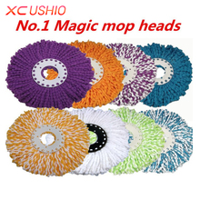 1pc Nanometer Microfiber Cloth Mop Head Kitchen Bathroom Super-absorbent Cleaning Mop Head Replace Cloth Cleaner Fast Shipping