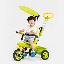 6 months - 6 years old high quality baby tricycle pedal baby cart free inflatable child bicycle wheel