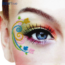 Recommend Makeup Tools & Accessories Floral Eyeshadow Stickers For Party Wedding Dancing Party Dating