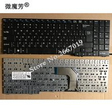 Russian laptop Keyboard FOR Clevo for DNS for ECS MB50 MB50II MB50IA MB50IA1 Black MP-09R16SU-3603 82B382-FM2028 RU(China)