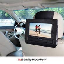 TFY Car Headrest Mount Holder for Swivel and Flip Style 7 Inch Portable DVD Player (DOES NOT fit Sylvania SDVD7027-C)(China)