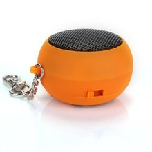 ETC-Electrical/orange DK - 601 Mini speaker with key chain and data cables