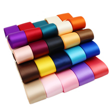 (25 colors mixed) 1''(25mm) double face satin polyester ribbons wholesale Christmas Ribbons 1 lot=25 yards(China)