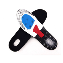 2016 New Free Size Unisex Orthotic Arch Support Sport Shoe Pad Sport Running Gel Insoles Insert Cushion for Men Women xd133