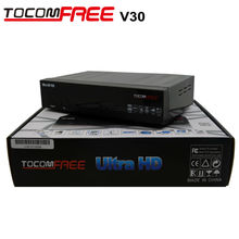 Satellite TV Receiver Tocomfree V30 Internet TV Decoder Support Cccam Newcamd Same as Jynxbox V30 for North America in Stock