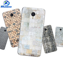 "DIY Customize for Meizu M3 / M5 Note 5.5 Inch Phone Case 5.2"" For Meizu M5 / M5S Mini Fundas Soft TPU Shell Bricks Printing"