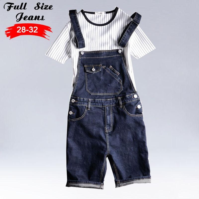 Kinsaga Mens Casual Summer Style Plus Size Denim Bib Overalls 4XL 5XL Male Short Knee Length Bermuda Jeans JumpsuitsÎäåæäà è àêñåññóàðû<br><br>