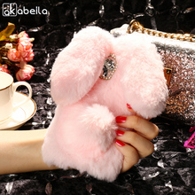 Buy AKABEILA Silicon Case Lenovo C2 Cases Rabbit Hair Bling Diamond C2 Power Soft TPU Cute Anti-knock Cover for $5.80 in AliExpress store