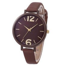 Hot Sale Geneva Women Watch Faux Leather Strap Wrist Watches Mens Female Clock Women Sports Quartz Watch Relogio Feminino #N