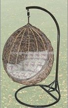 Hot sale SG-JHA-178E Rattan hanging egg chair