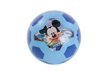 "DISNEY Soccer 7.5"" PVC Ball Children Cartoon Miskey Mouse Soccer Kids outdoor play ball Football For boy and girl(China)"