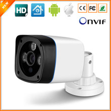 BESDER XMEye ONVIF P2P HD 720P 1.0MP IP Camera Outdoor Bullet Security Surveillance CCTV XM510 Processor DSP + 1/4'' H42 Sensor