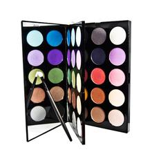 PARTY QUEEN 30Colors Nude Shimmer Matte Eyeshadow Palette Makeup Glitter Artist Eye Shadow Iridescent Finish