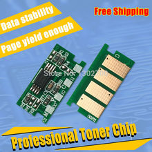 2SET 407729 407730 407731 407732 Toner Cartridge Chip For ricoh Aficio C250 C250e C 250 250e color printer powder refill reset(China)