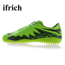 Football Shoes For Kids Green Blue Sneaker Soccer Men Shoes Anti-Slippery Soccer Boots Indoor Breathable Traning Football