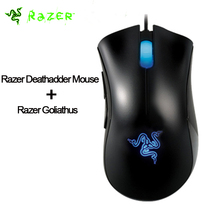 100% Original Razer Deathadder Mouse 3500DPI Gaming Mouse ,USB Wired Ergonomic right-handed Game Mouse Lowest Price(China)