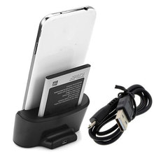 Dual Sync Data Battery Stand Charger Dock + USB to Micro USB Cable for Samsung Galaxy Mega 6.3 i9200
