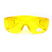 1Pcs Yellow Automotive Air Conditioning Leak Detector Glass/UV Protection Adjustable Safety Glasses UV 400 Car Parts(China)