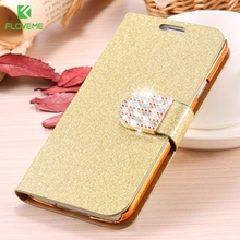 FLOVEME For Samsung S5 Cases S8 Plus Bling Diamond Glitter Leather Case Cover For Samsung Galaxy S5 S6 S6 Edge S8 Card Slot Bag