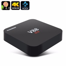 Original SCISHION V88 Android TV Box RK3229 Quad-Core CPU 1G+8G 4K movies WIFI 3D Movie smart media player Support 4 X USB