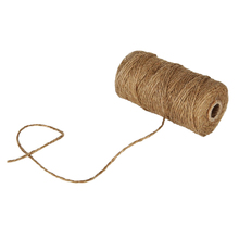 HOT SALE hemp rope Natural Jute Twine Best Arts Crafts Gift Twine Christmas for Gardening Applications(China)