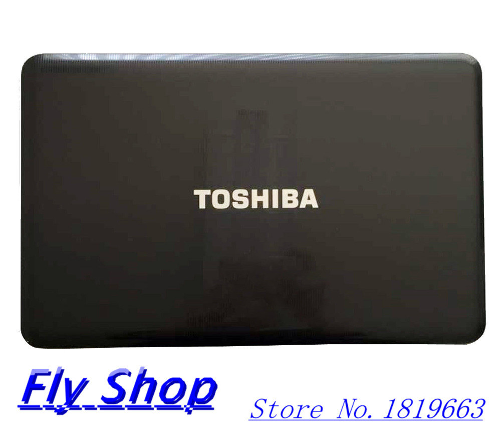 New/Original For Toshiba Satellite C855 C855D LCD Back Cover 15.6 Lid V000270410 Black Glossy<br><br>Aliexpress