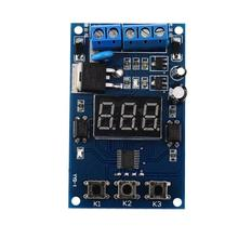 New Trigger Cycle Timer Delay Switch Circuit Control Board MOS FET Driver Module With Led Digit Dispaly