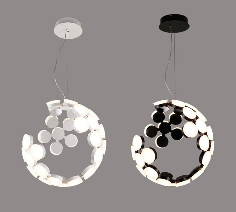 Horsten Nordic Postmodern Creative Pendant Light Art Decoration Personality Dining Room Pendant Lamp LED Hanging Lighting For Cafe Bar (4)