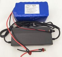 36 V 6.6Ah (10S3P) Rechargeable batteries, Change bicycles, electric car battery, 42V lithium battery pack + cherger
