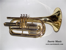 Bb Marching Trombone with Hard case Brass Body Lacquer surface Wind musical instruments professional(China)