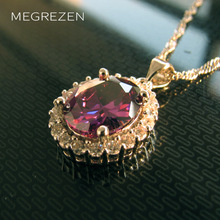 Bohemian Silver Choker Necklace With A Crystal Pendant Charms Costume Jewelry Wholesale Necklaces & Pendants Bijoux Femme Yn003(China)