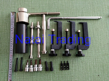 common rail diesel pump disassembling tool kits for Bosch and Denso common rail pump