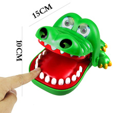 Fun Toys Crocodile Dentist Bite Finger Game Funny Terrible Novetly joke plastic Toy for Kids Gift Christmas gift Free Shipping