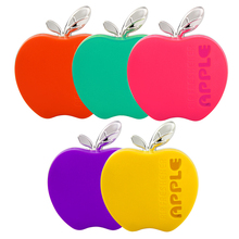 Apple Shape Orange Lemon Apple Strawberry Lavender Original Fragrance Hot Selling Air Freshener Car Perfume(China)