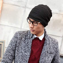 Autumn  winter men 's Europe  the United States trend  knitted hat warm winter ear protection head cap Skullies & Beanies