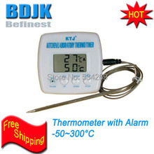 TA238 Digital Thermometer with 17cm SS Probe & Alarm Kitchen/ Laboratory Temperature Measuring