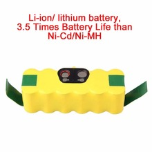Battery for iRobot Roomba Vacuum Cleaner for 500 560 530 510 562 550 570 581 610  Li-ion Lithium Battery 6000mAh Li-ion Battery