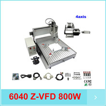 LY 6040 cnc router 800W 4th axis CNC Router Engraver Engraving Milling Drilling Cutting Machine CNC 6040