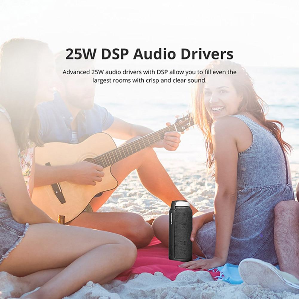 Bluetooth 4.1 Portable Speaker (Red) 3