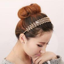 Euro Fashion trend woman rhinestone headband austria crystal broadside hair bands quality hair accessory luxury 3colors(China)