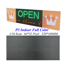 LED Screen Display P5 320*160MM 64*32 Pixel 1/16 Scan 3 in1 SMD2121 RGB Full Color LED Module Signs For LED Video Wall