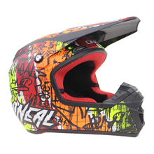 Geniune Off Road motorcycle helmet Dirt Bike helmet Racing Geniune Graffitifi design DD ring buckle DOT ECE approv ATV UTV casco