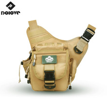 DOLOVE Oxford cloth waterproof  saddle bag  messenger bag shoulder photography SLR camera bag men and women