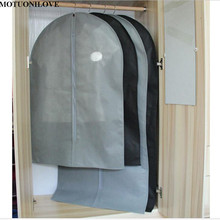 Cover Protector Wardrobe Storage Bag Case For Clothes Trench Coat Dress Garment Suit Coat Dust Cover Fur coat storage bag M0830(China)