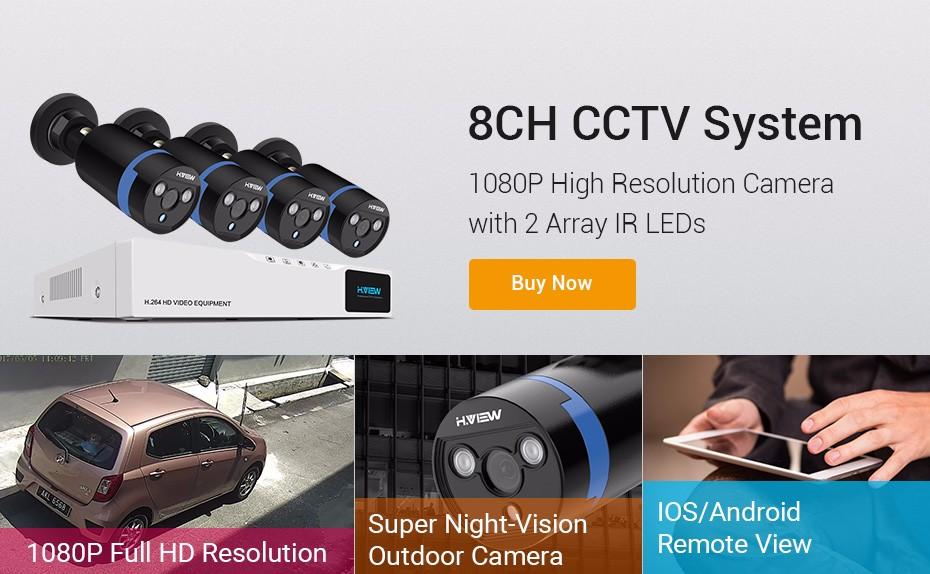 Surveillance Kits Security System CCTV System Surveillance Camera System