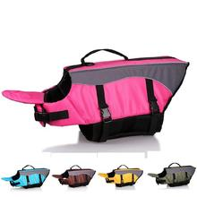 Dog Life Jacket Safety Clothes Pet Life Vest Breathable Summer Swimwear Pet Safety Swimsuit Swimming Preserver XS-XL(China)